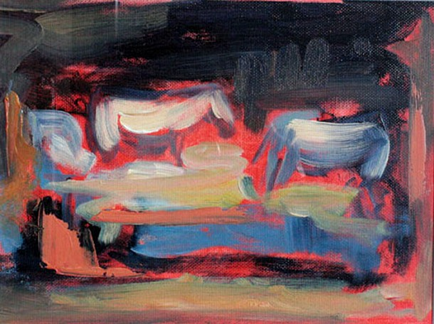 Night Grazers Oils - 21 x 24cm